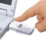 USB drive cu autentificare prin amprenta